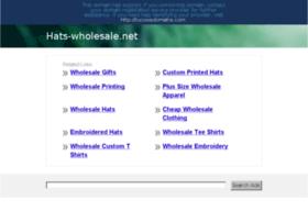Hats-wholesale.net thumbnail