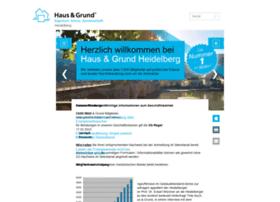 Haus-und-grund-heidelberg.de thumbnail