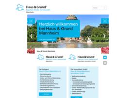Haus-und-grund-mannheim.de thumbnail