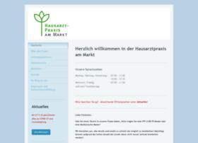 Hausarztpraxisammarkt.de thumbnail