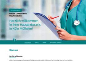 Hausarztpraxismuelheim.de thumbnail