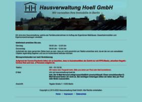 Hausverwaltung-hoell.de thumbnail
