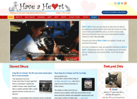 Haveaheart.org thumbnail
