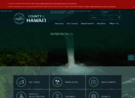 Hawaiicounty.gov thumbnail