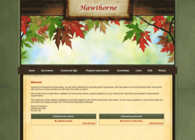 Hawthornehoa.org thumbnail