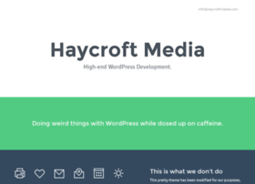 Haycroftmedia.com thumbnail