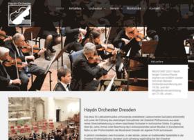Haydn-orchester-dresden.de thumbnail
