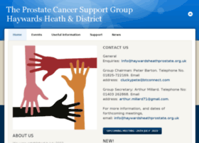 Haywardsheathprostate.org.uk thumbnail