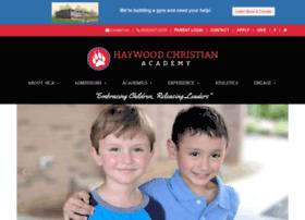 Haywoodchristianacademy.org thumbnail