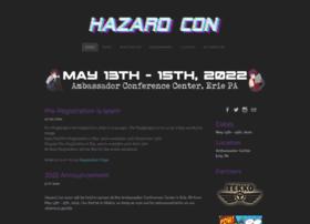 Hazardcon.org thumbnail
