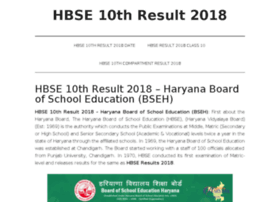 Hbse10thresults2017.in thumbnail