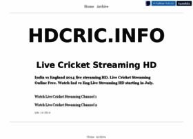 Hdcric.info thumbnail