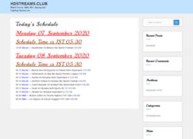Hdstreams.club thumbnail