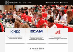 He-ichec-ecam-isfsc.be thumbnail