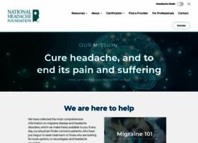 Headaches.org thumbnail