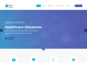 Healthcard.luckycoupons.in thumbnail