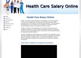 Healthcaresalaryonline.com thumbnail
