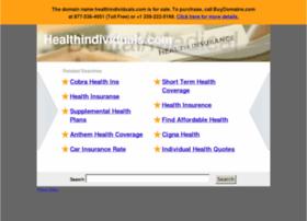 Healthindividuals.com thumbnail