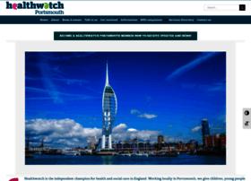 Healthwatchportsmouth.co.uk thumbnail