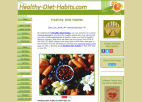 Healthy-diet-habits.com thumbnail