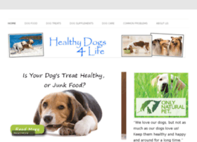 Healthyfood4dogs.info thumbnail