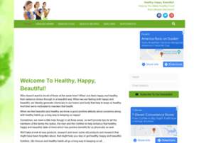 Healthyhappybeautiful.com thumbnail