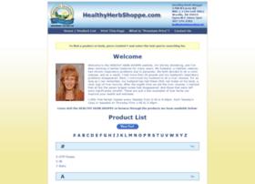 Healthyherbshoppe.com thumbnail