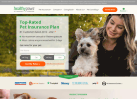 Healthypawspetinsurance.com thumbnail