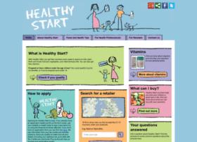 Healthystart.nhs.uk thumbnail