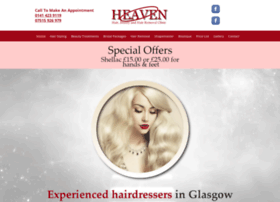 Heavenhairglasgow.co.uk thumbnail