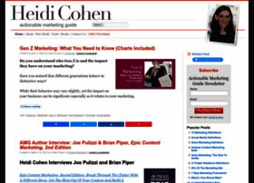 Heidicohen.com thumbnail