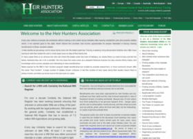 Heirhunters.org.uk thumbnail