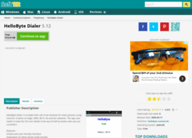 Hellobyte-dialer.soft112.com thumbnail
