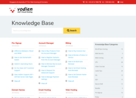 Help.vodien.com thumbnail