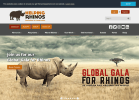Helpingrhinos.org thumbnail