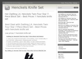 Henckelsknifeset.info thumbnail