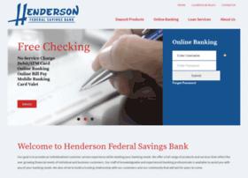 Hendersonfederal.com thumbnail