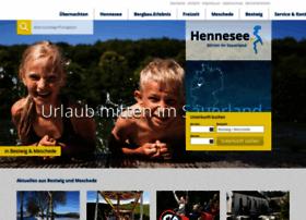 Hennesee-tourismus.de thumbnail