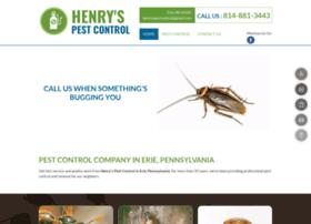 Henryspestcontrol.net thumbnail