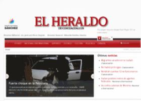 Heraldodecoatzacoalcos.com.mx thumbnail