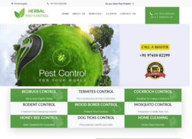 Herbalpestcontrol.in thumbnail