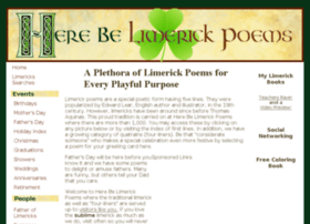 Here-be-limerick-poems.com thumbnail