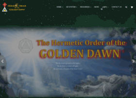 Hermeticgoldendawn.org thumbnail