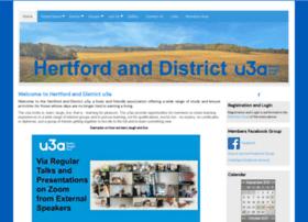 Hertfordu3a.org.uk thumbnail