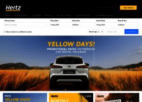 Hertz.co.za thumbnail