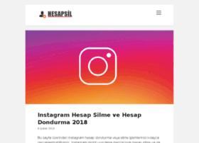 Hesapsil.co thumbnail
