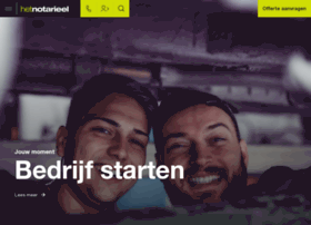 Hetnotarieel.nl thumbnail