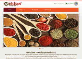 Hidayatproducts.com thumbnail