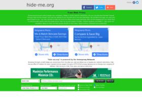 Hide-me.org thumbnail