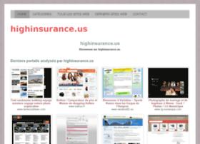 Highinsurance.us thumbnail